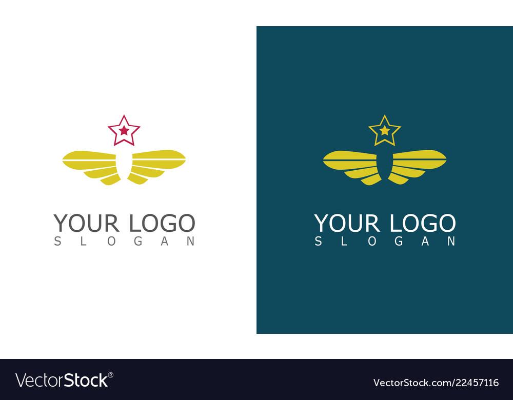 Wing star company logo