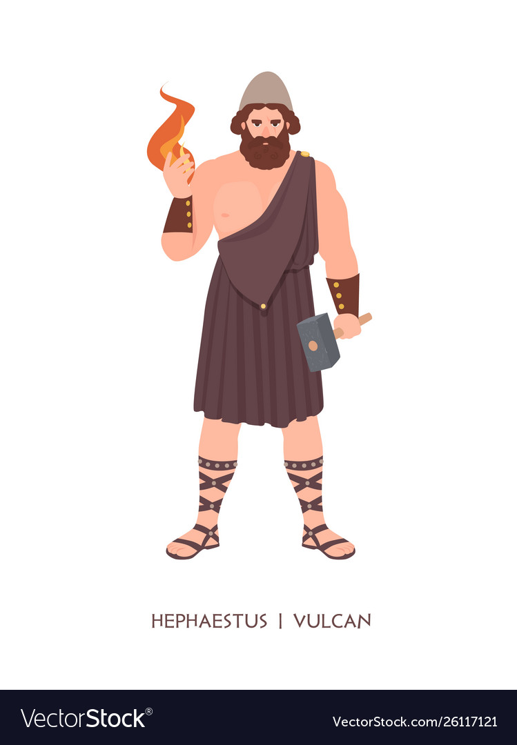 Hephaestus Or Vulcan God Or Deity Blacksmiths