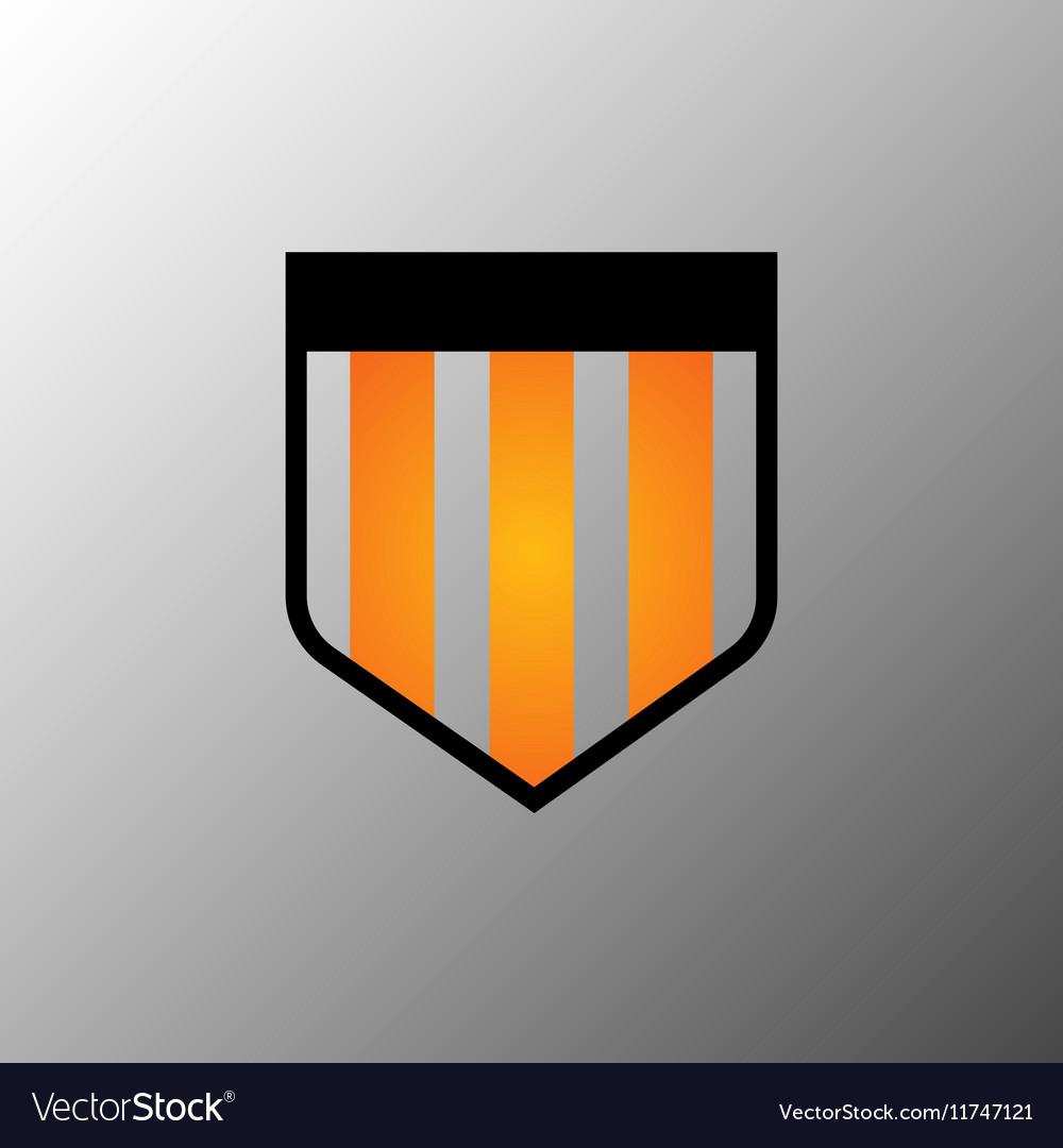 Shield logo icon design template elements