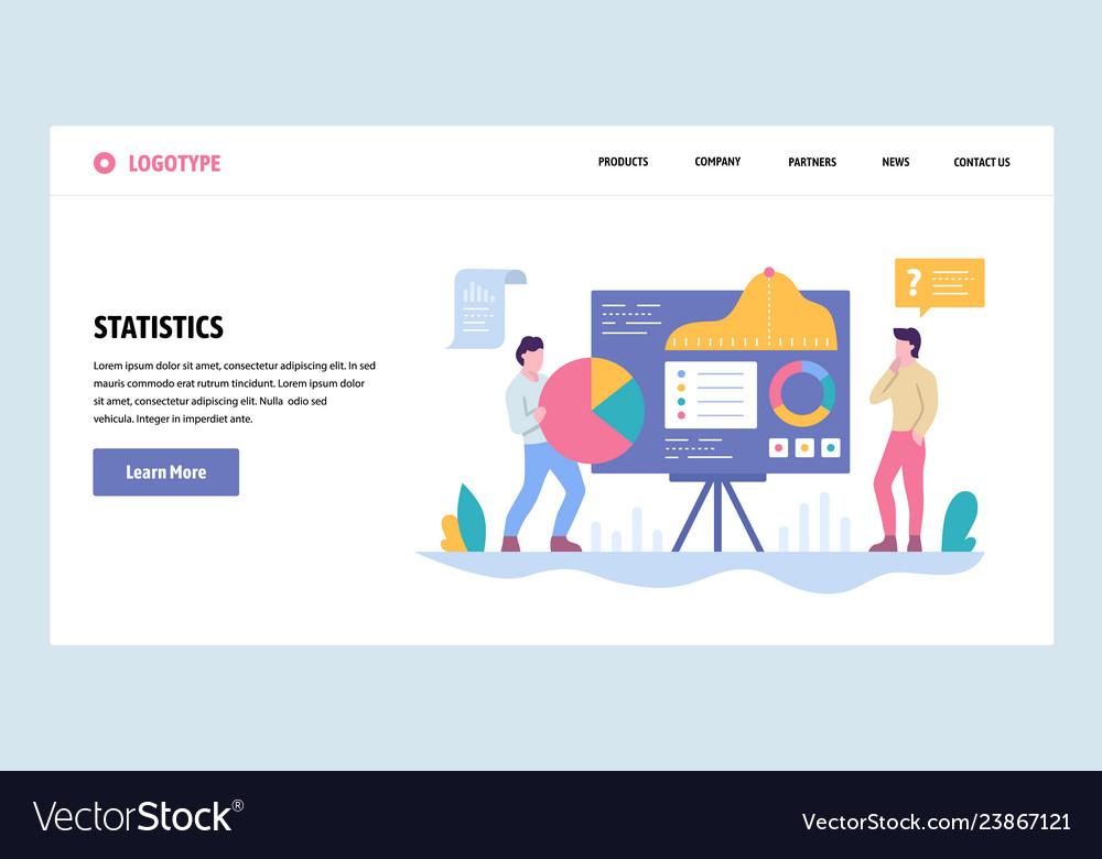 Web site gradient design template data