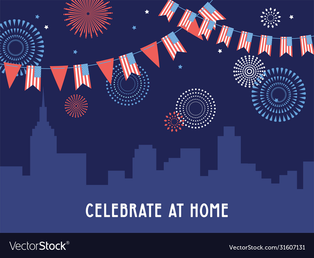 Celebration independence day america 4th of