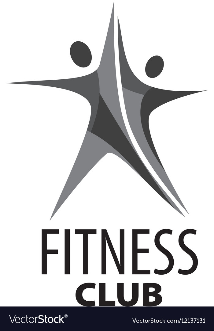 Logo For Fitness Royalty Free Vector Image Vectorstock