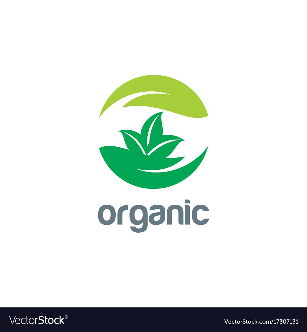 Organic ecology logo