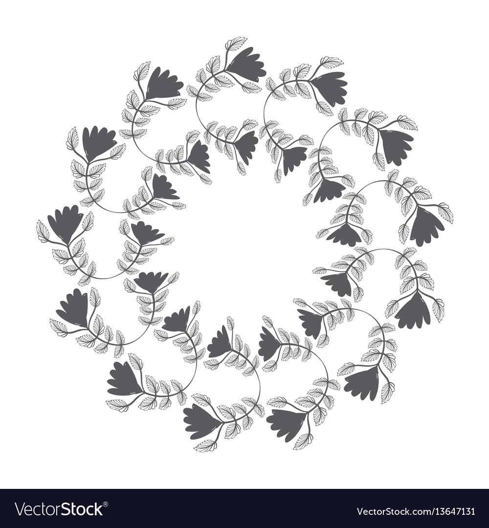 Rustic emblem abstract design