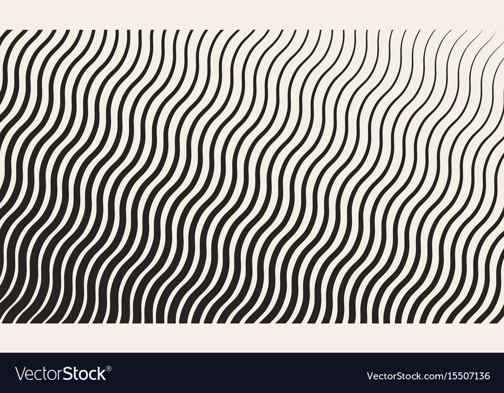 Abstract geometric halftone zigzag pattern