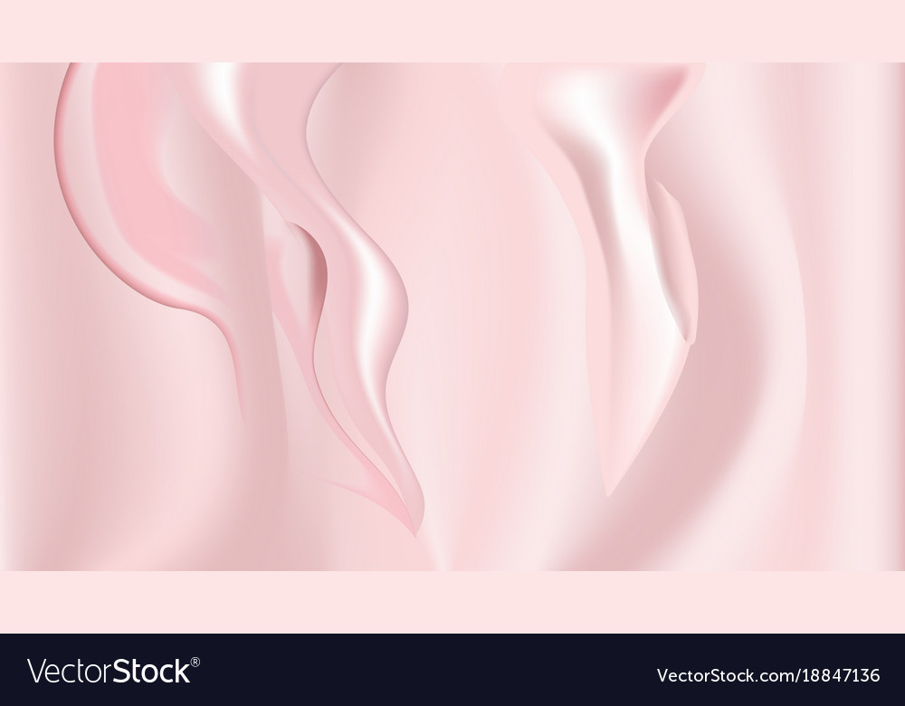 Colorful pink wave background