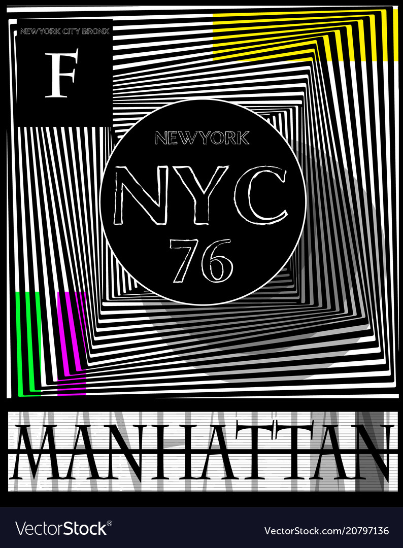 Nyc new york stock t-shirt design print design