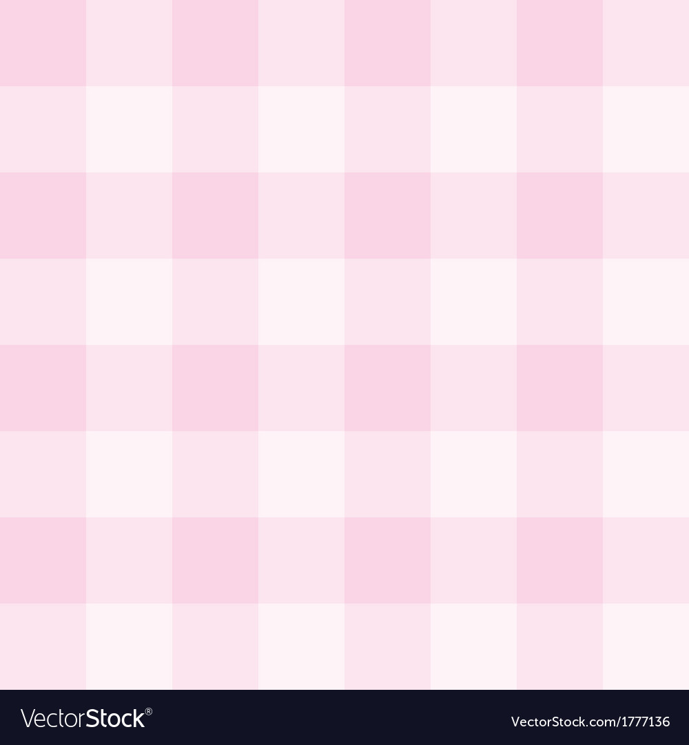 Seamless sweet checkered baby pink background