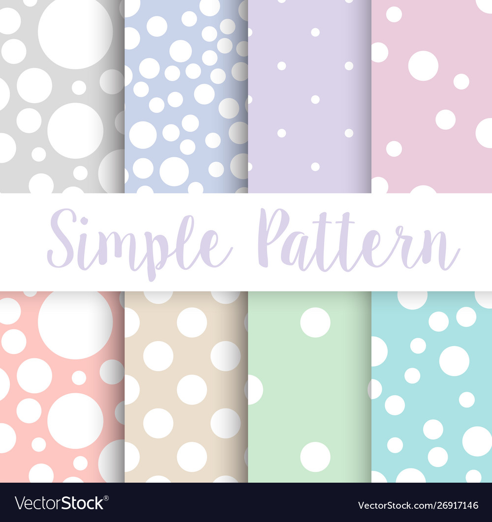 Simple polka dot circle