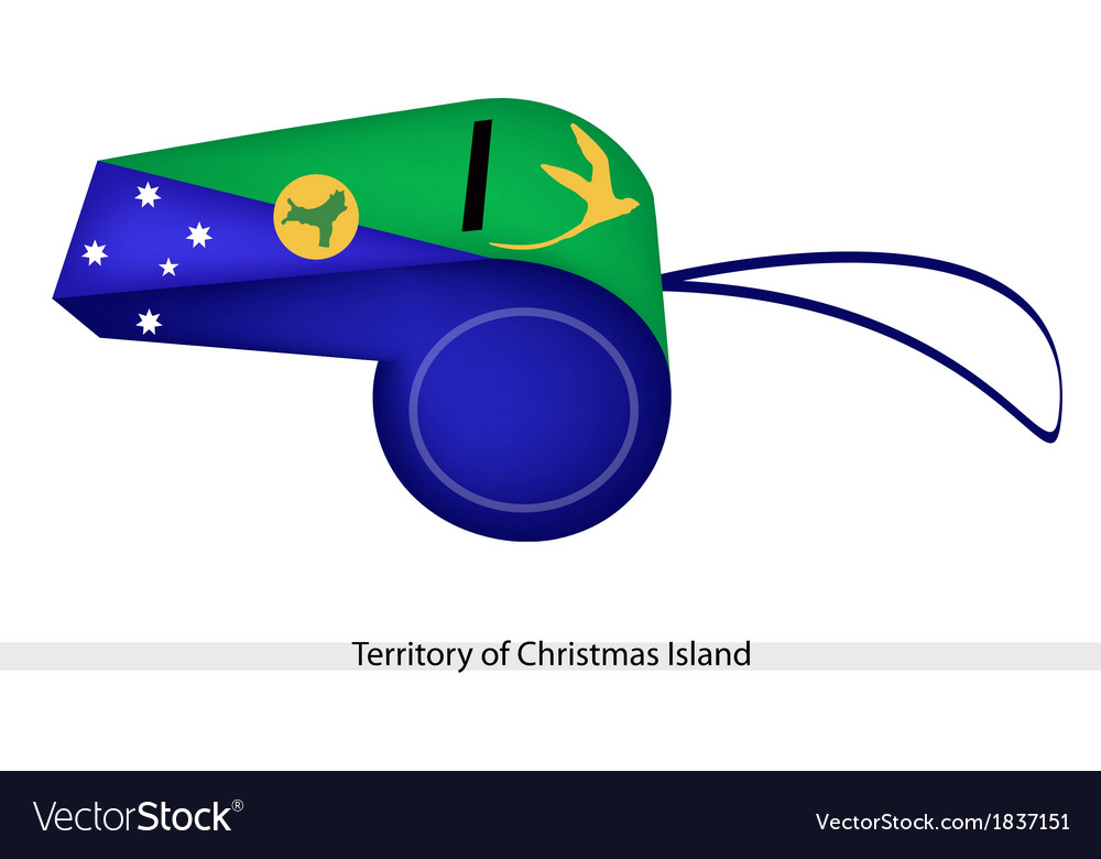 A Whistle of Territory of Christmas Island