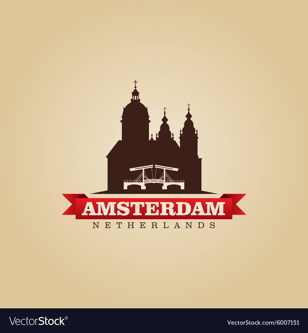 Amsterdam Netherlands city symbol