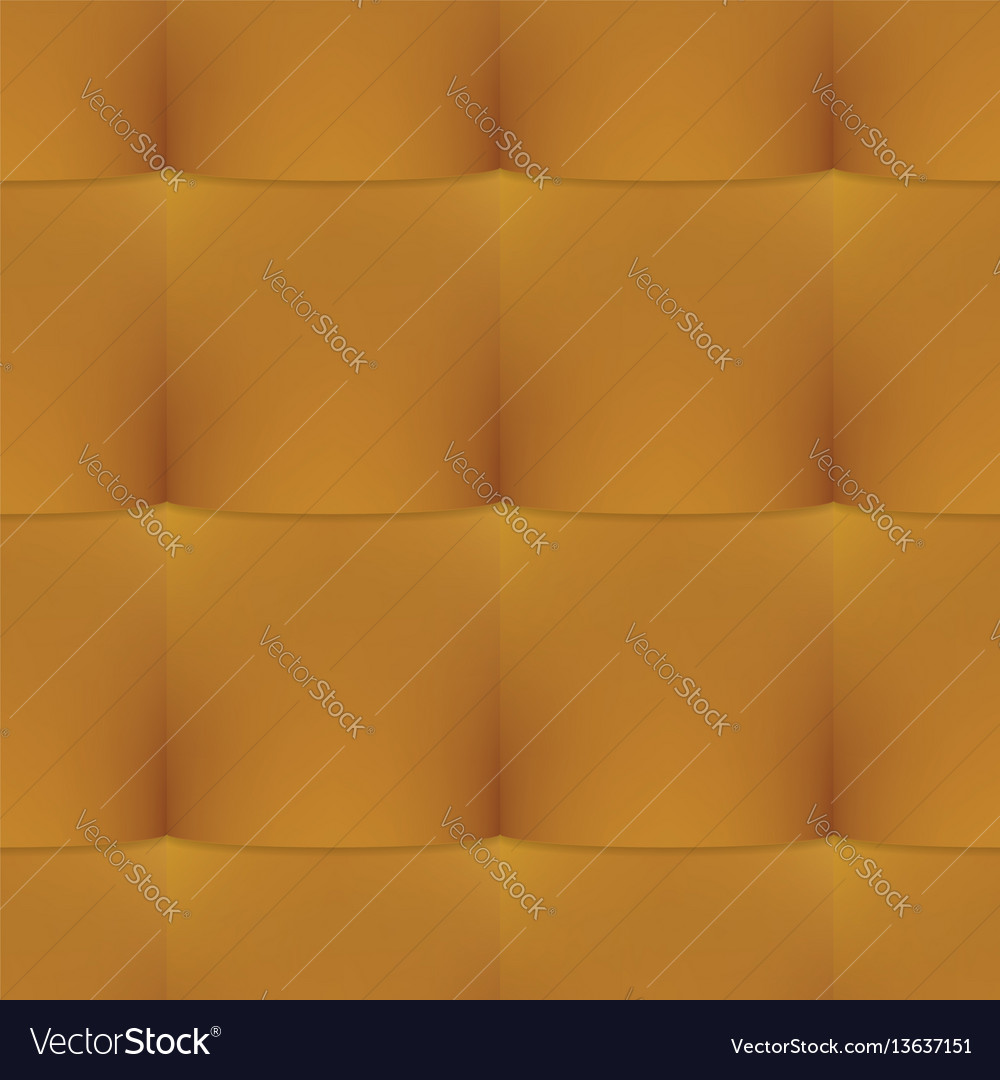 Gold buttoned leather seamless pattern