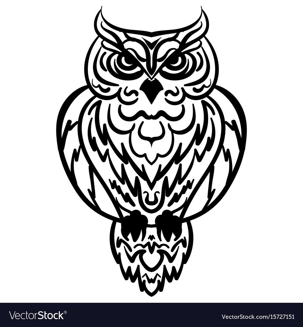 Owl, Book & Logo Vector Images (62)