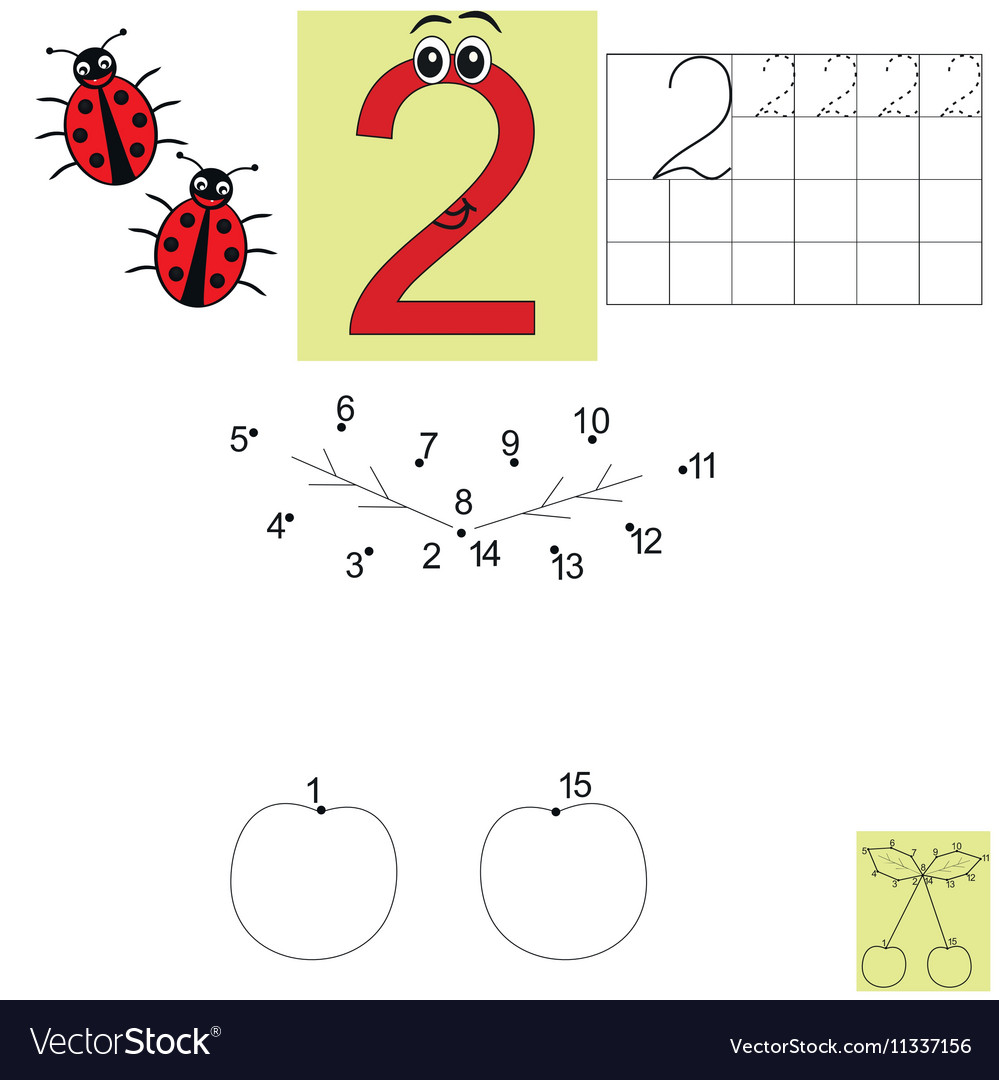 Children s math homework Figure two Connect the