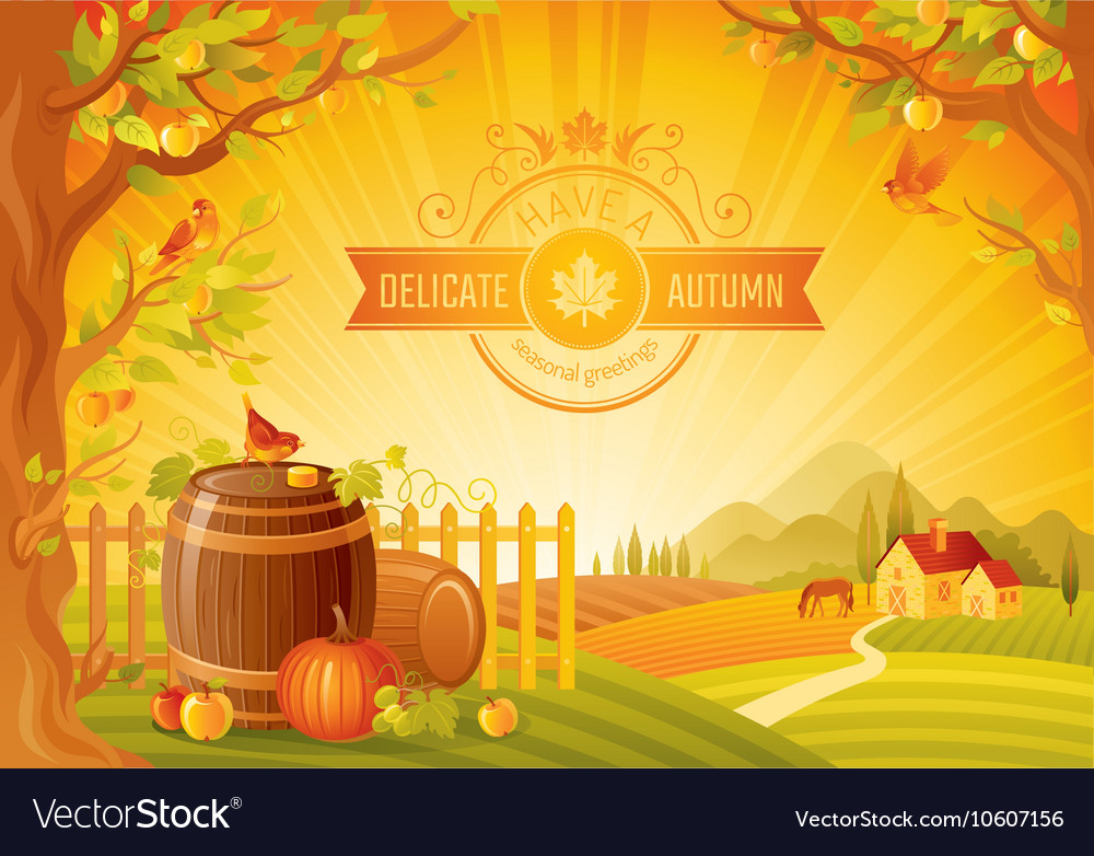 Thanksgiving of beautiful