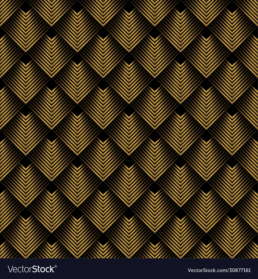 Abstract art deco lines background