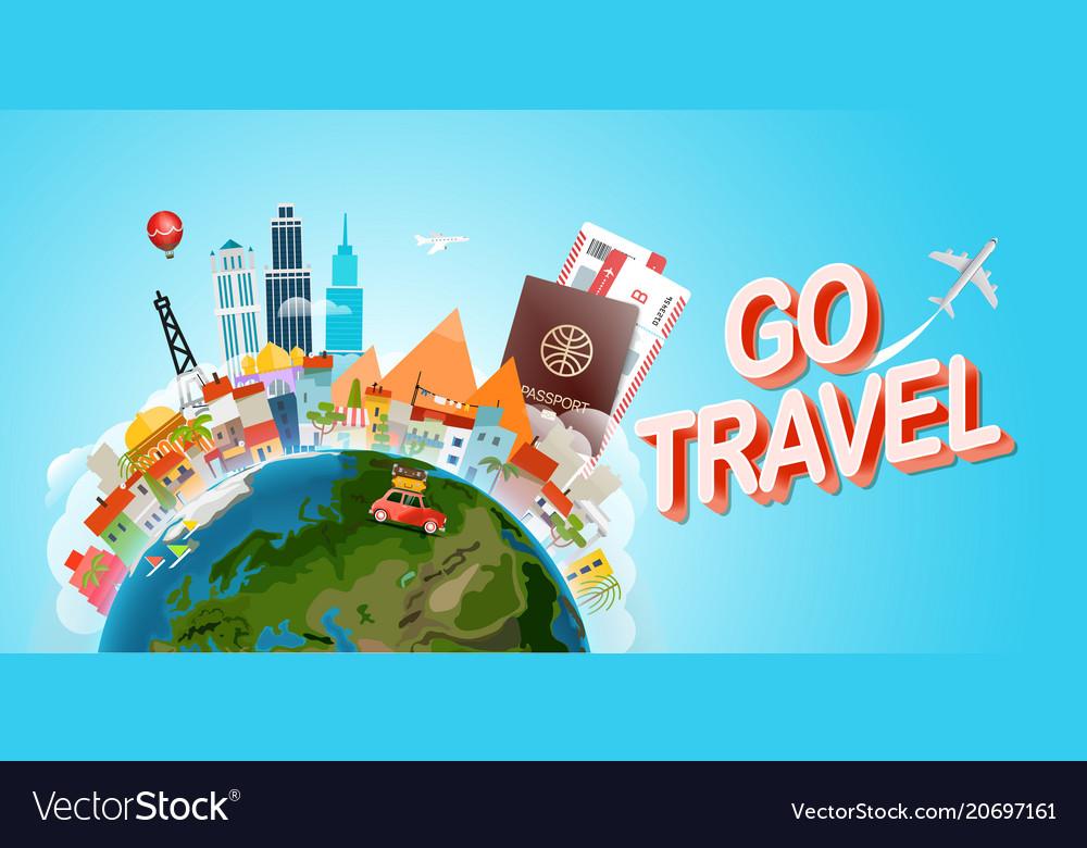 Travel concept go concept