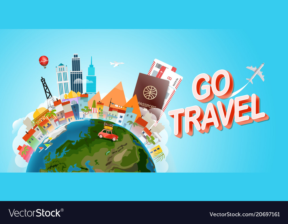 Travel concept go travel concept