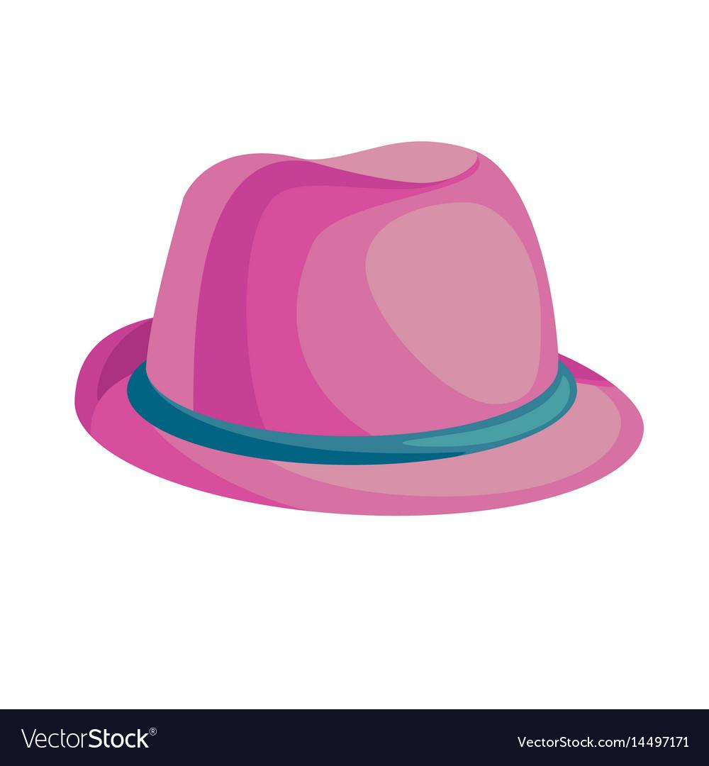 Cartoon pink hat