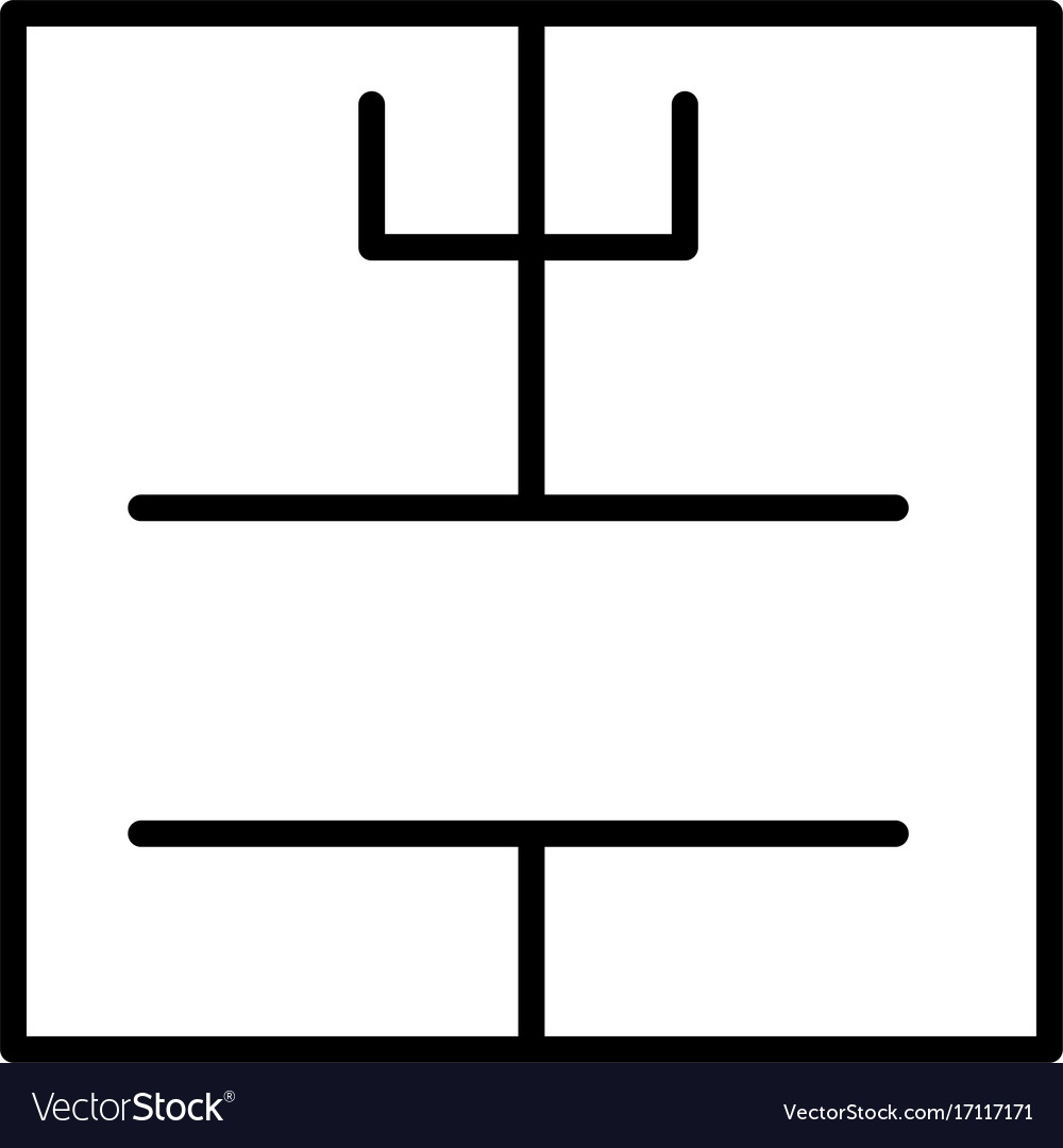 House plan icon vector image
