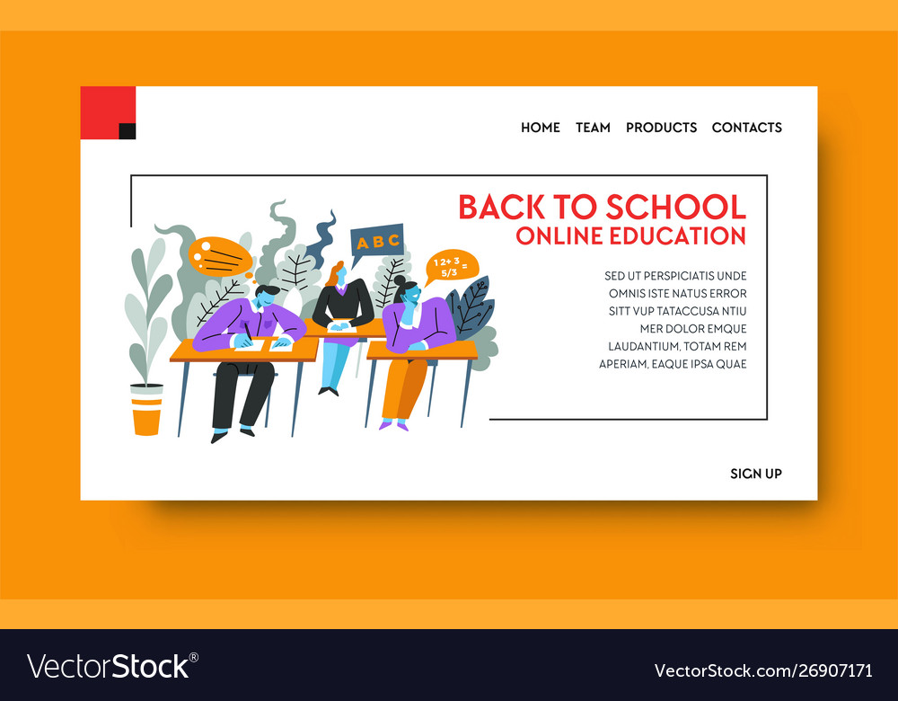 Online education e-learning or internet course