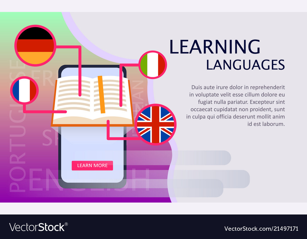 Online learning of foreign languages