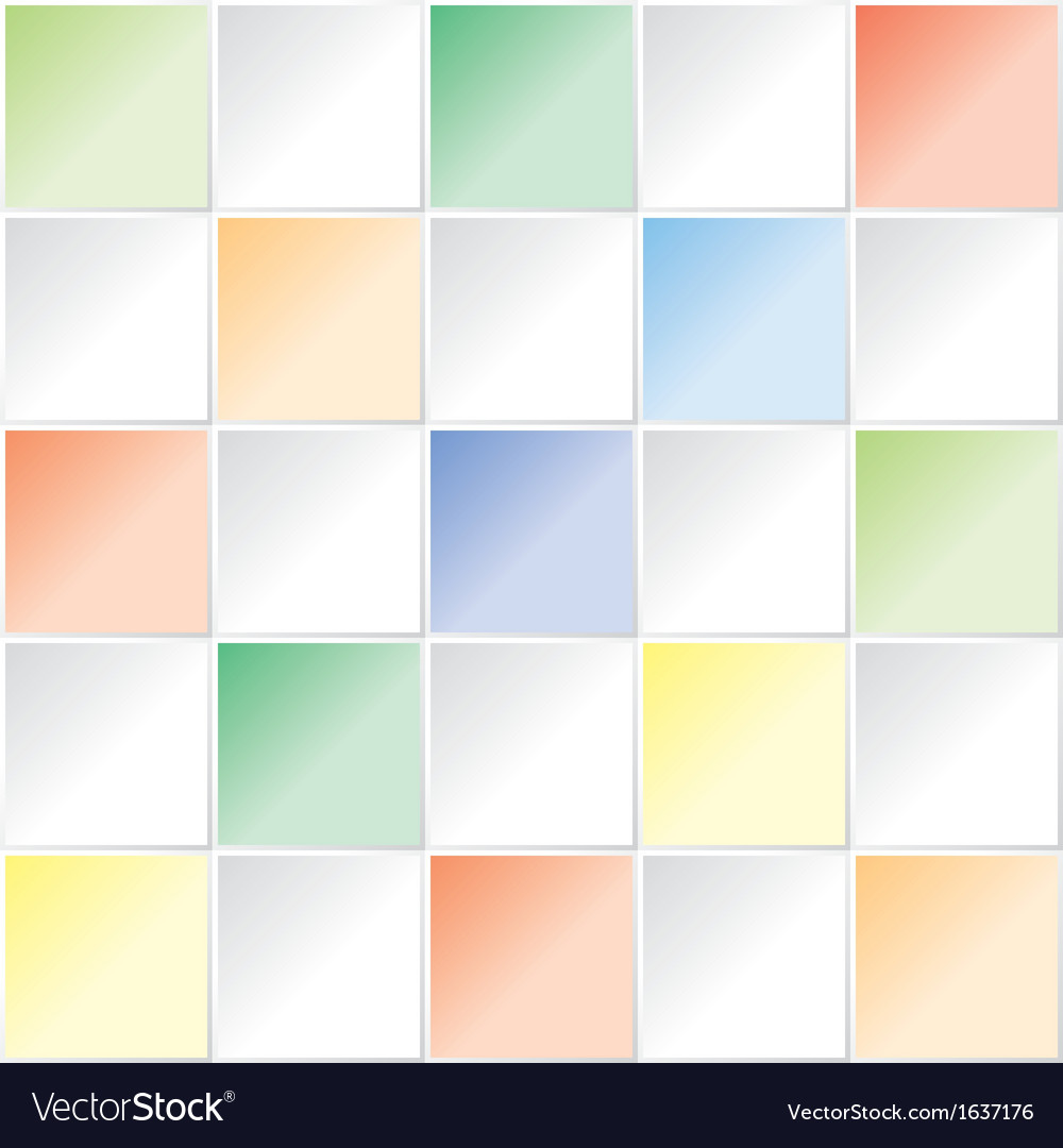 Color square pattern vector image