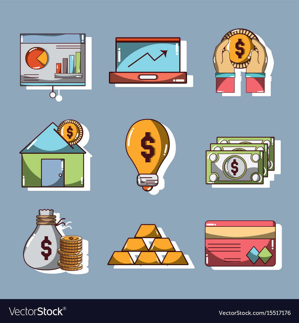Set financial business to commerce economy