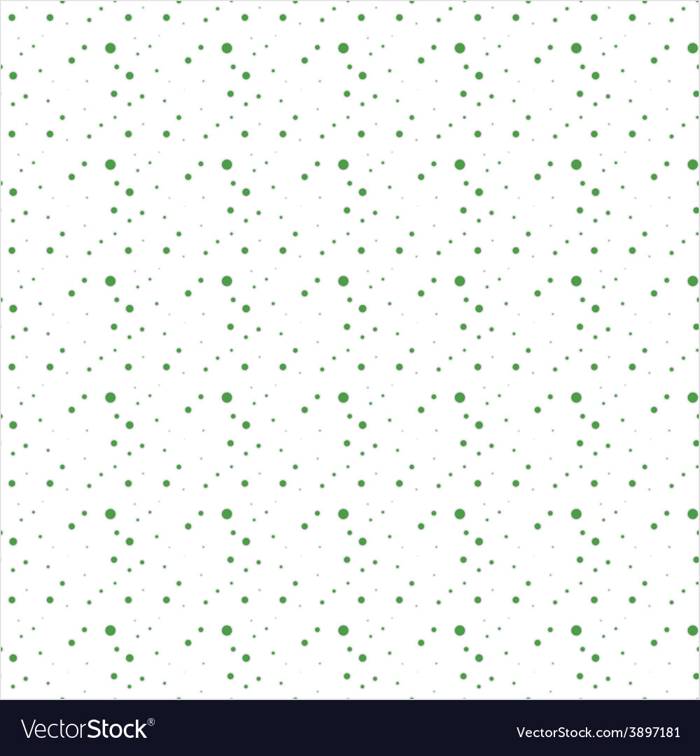 Abstract green polka dot background