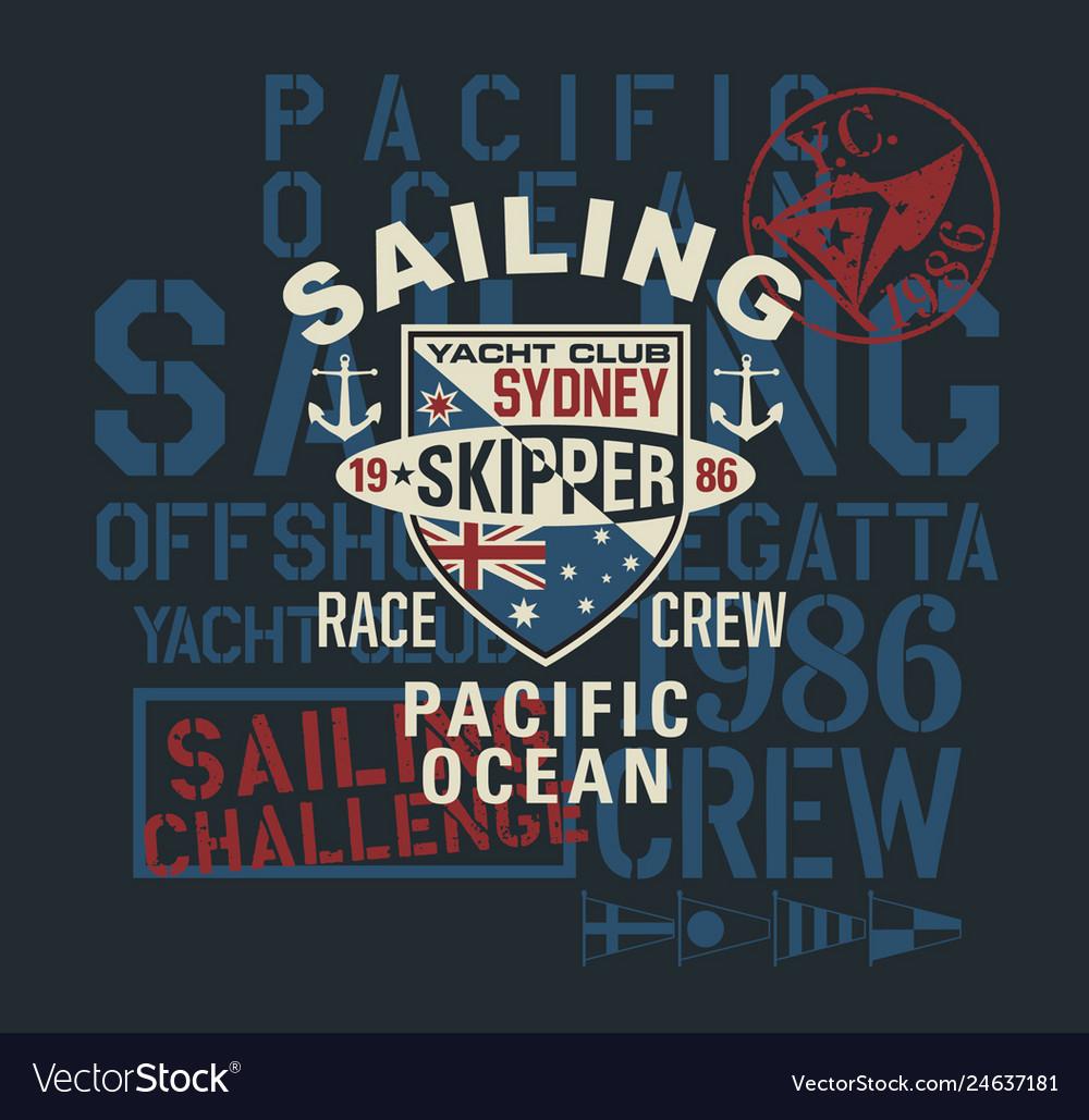 Pacific ocean regatta sailing challenge
