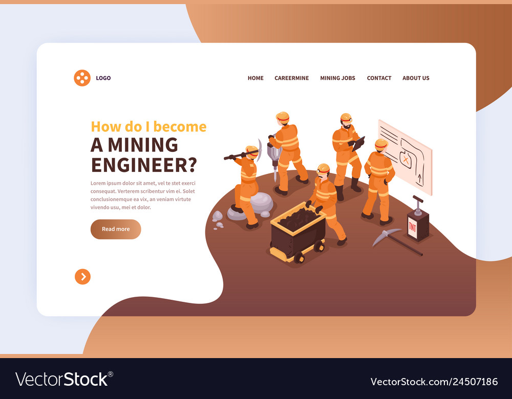 Become miner website page