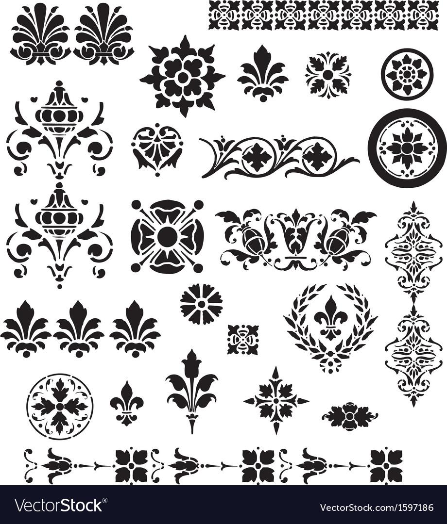 Floral Decorative set