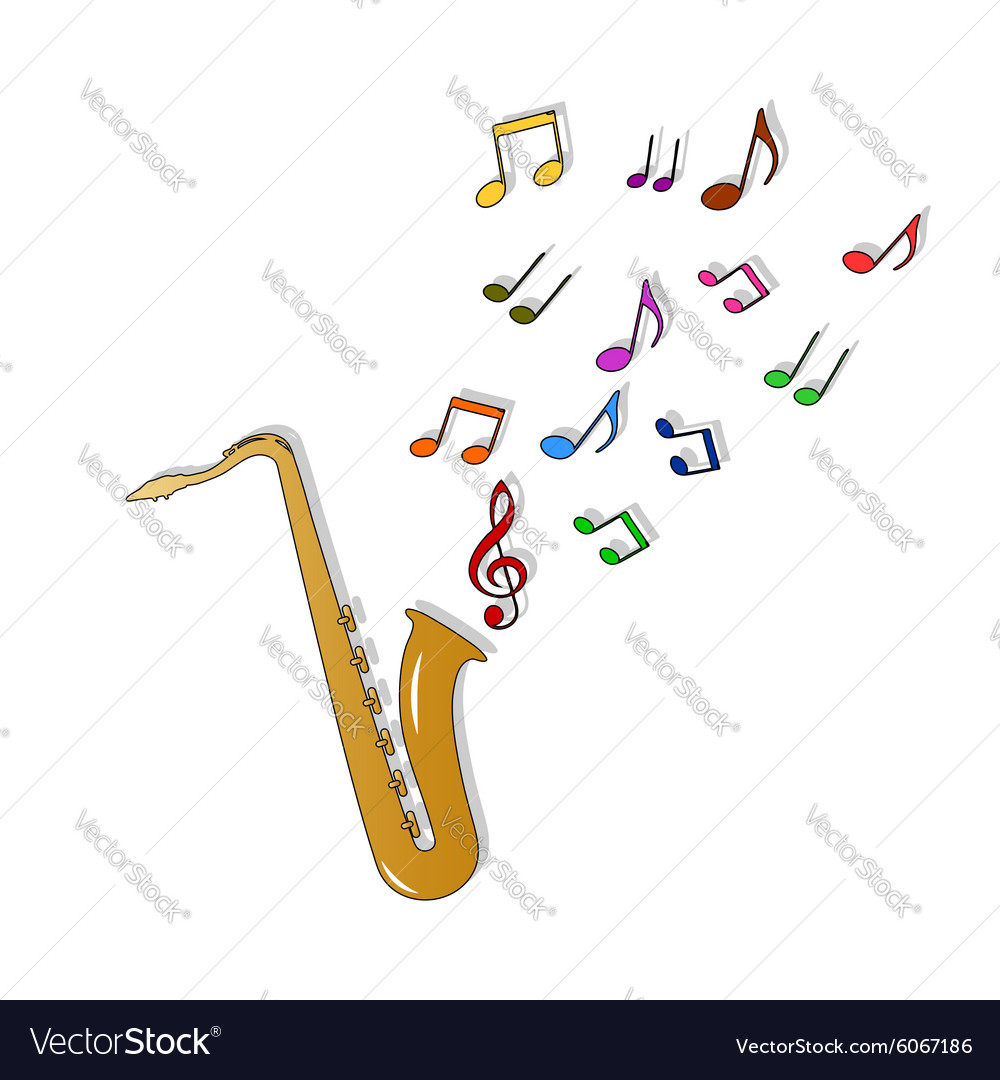 Saxophone color