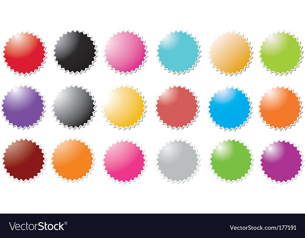 Colored stars