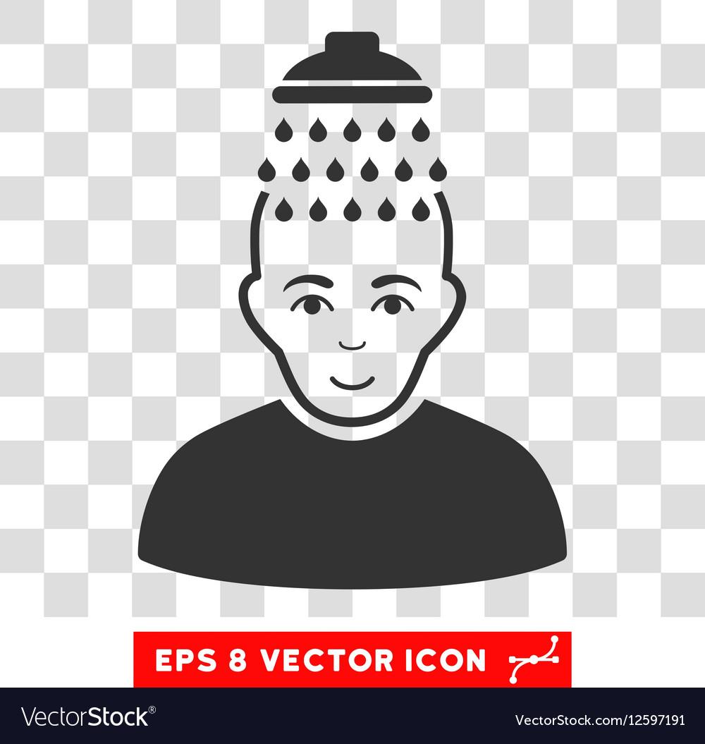 Head Shower EPS Icon