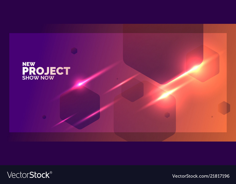 Abstract geometric background with figures in a