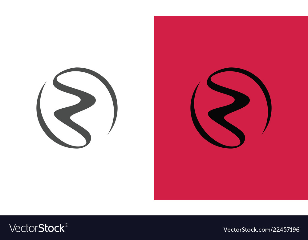 Circle letter z abstract logo