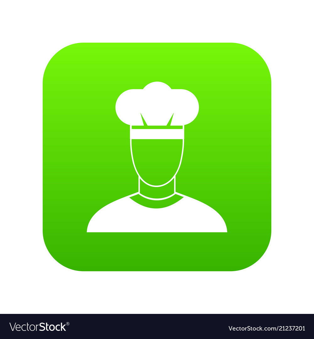 Cook icon digital green