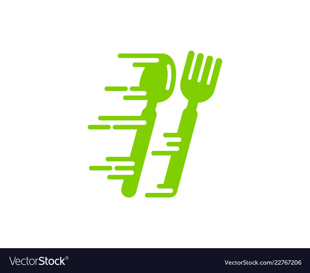 Fast food logo icon design