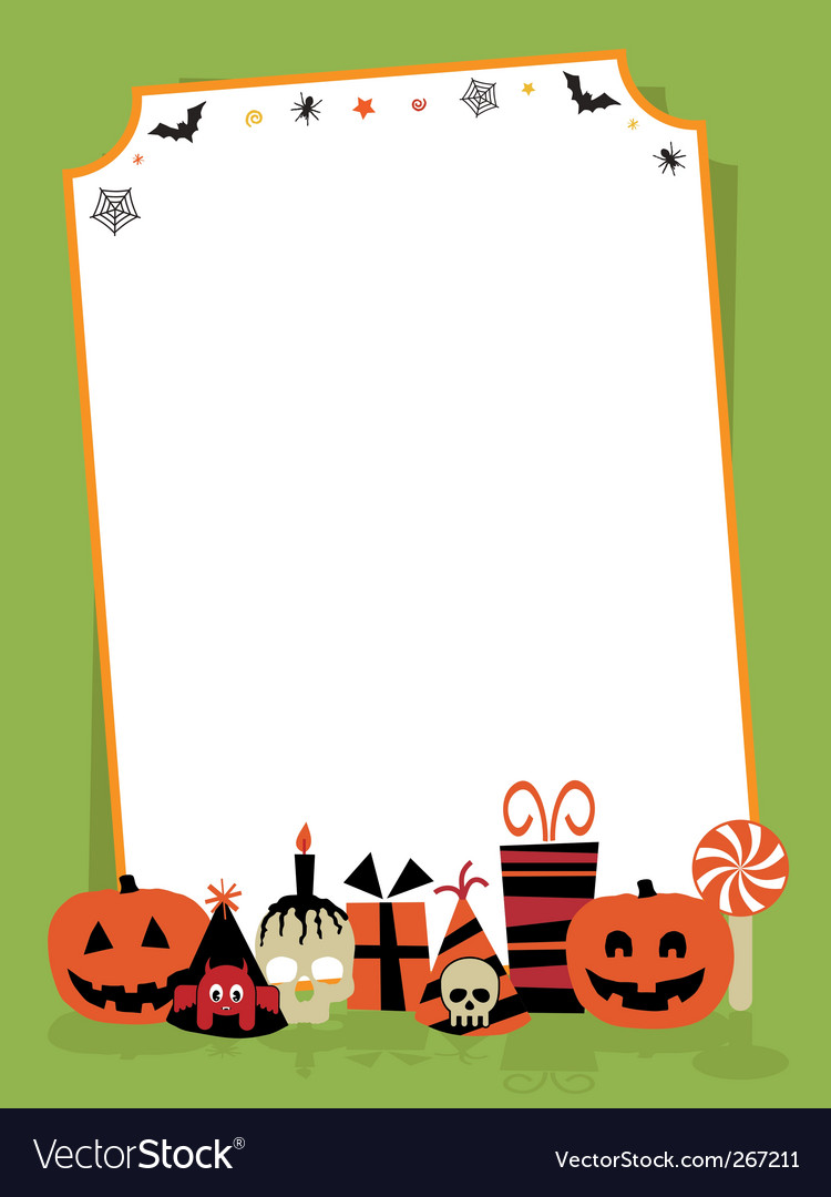 halloween party sign royalty free vector image