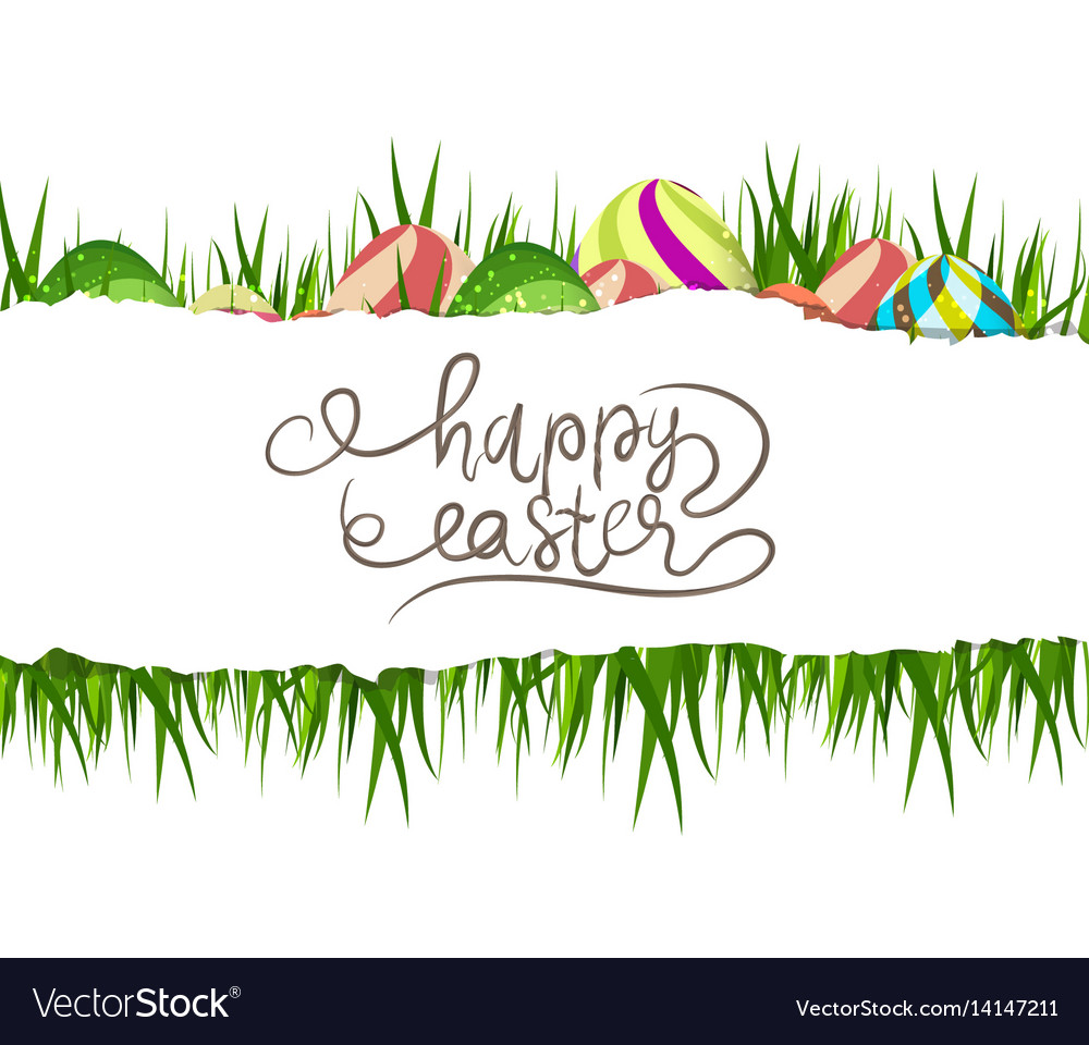 Happy easter eggs background