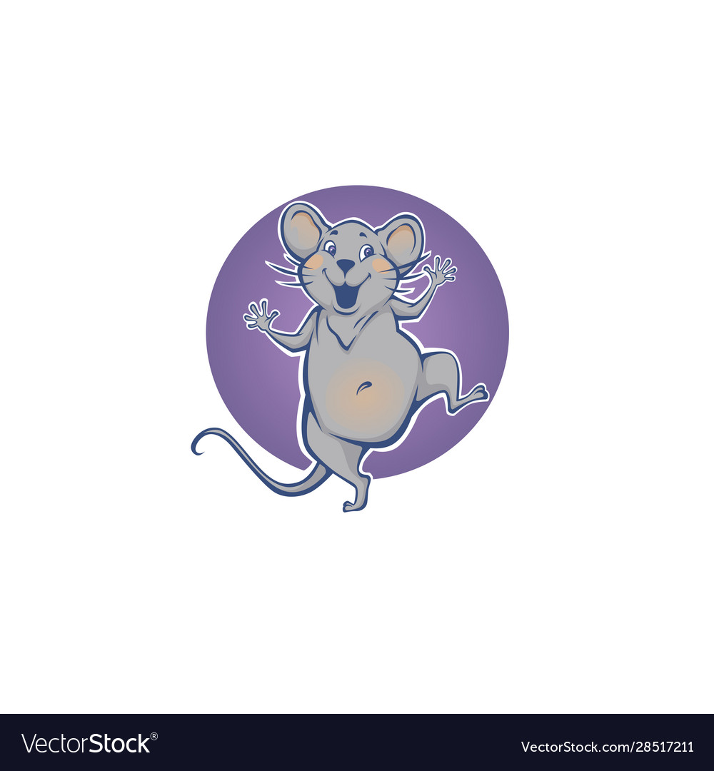 Happy rat chinese symbol new year