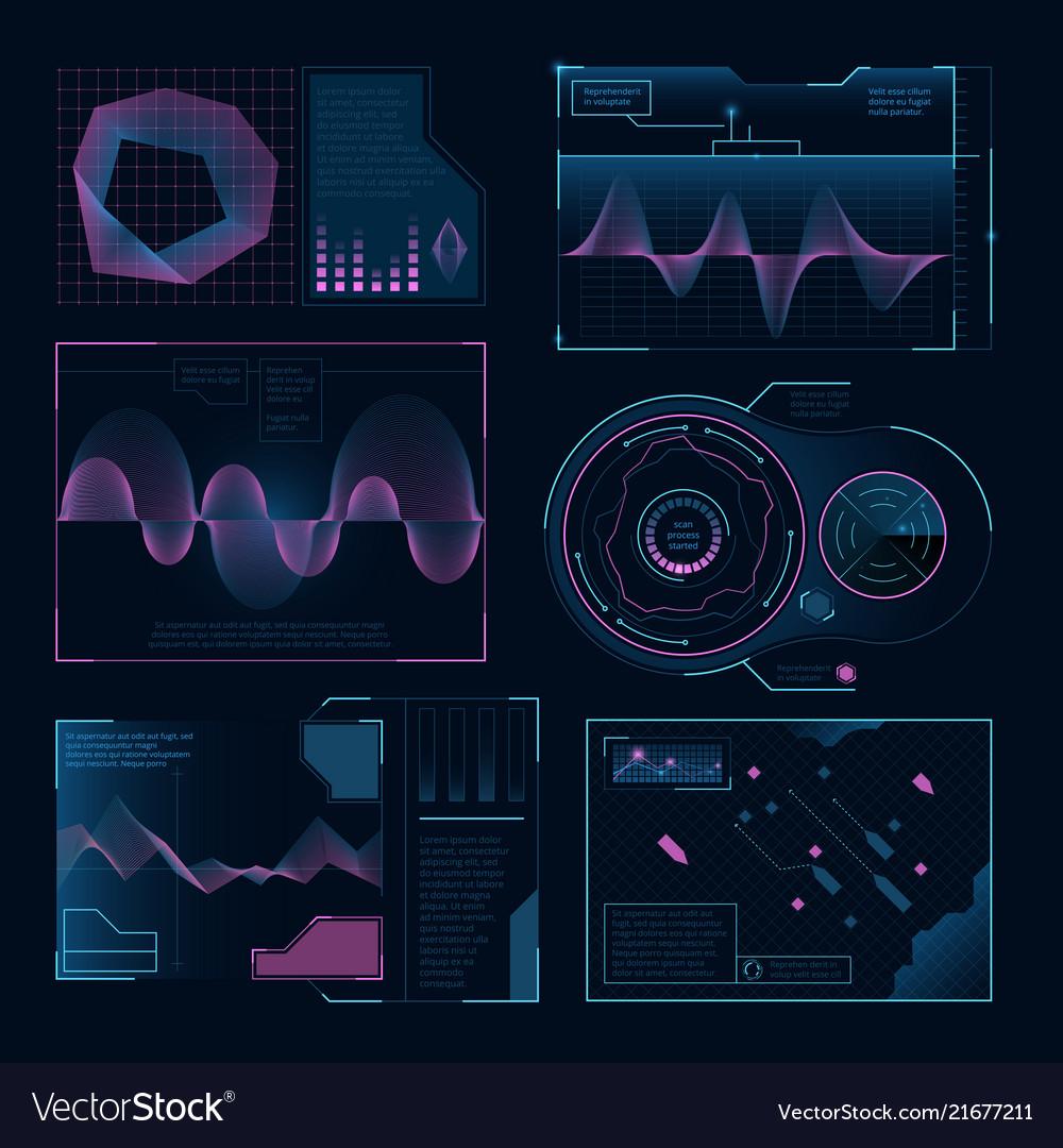 Modern digital symbols of web ui pictures