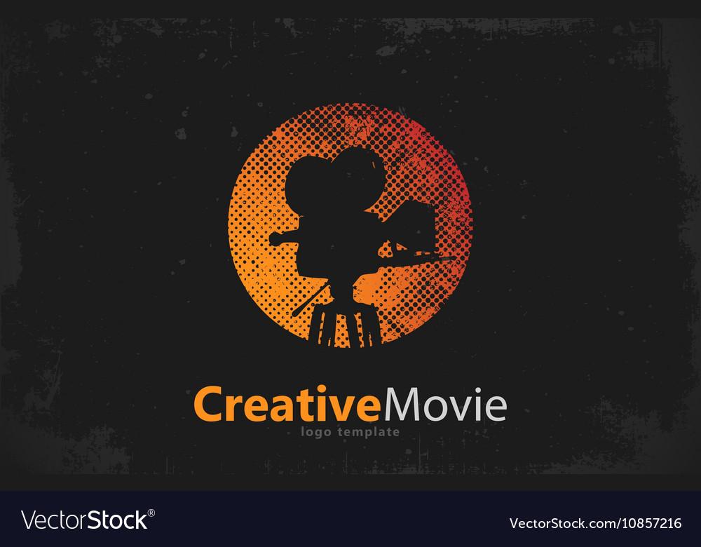 Movie logo Creative movie design Camera logo