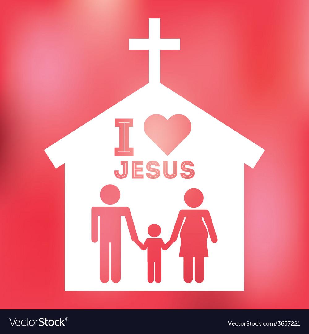 Jesus christ Royalty Free Vector Image - VectorStock