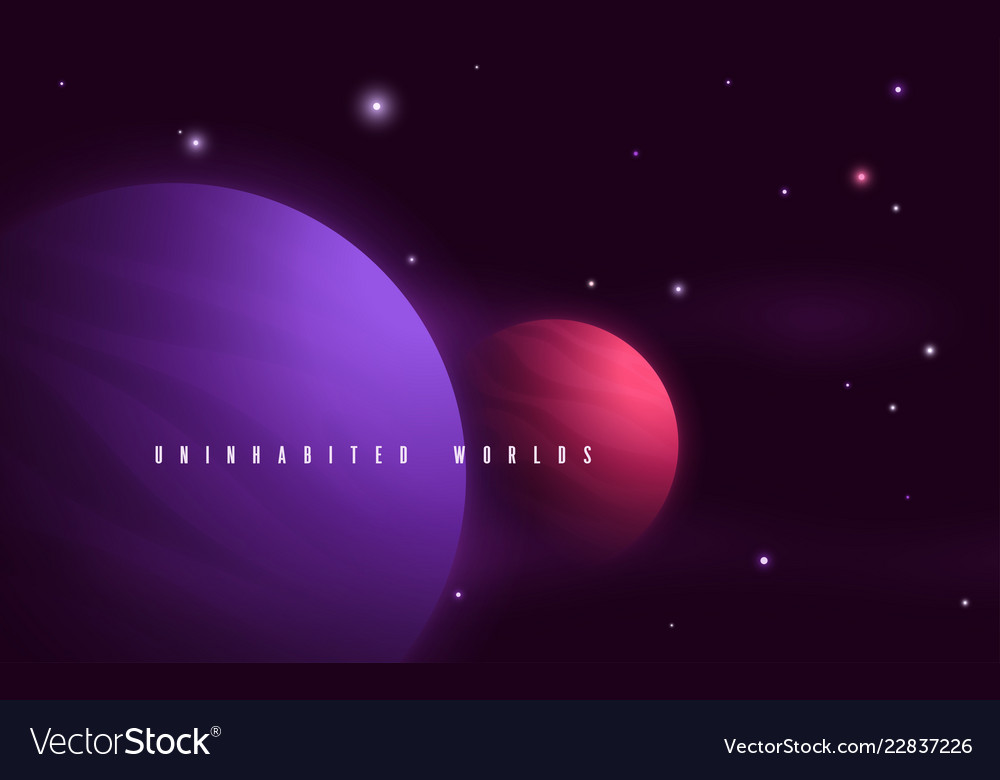 Deep space sci-fi abstract