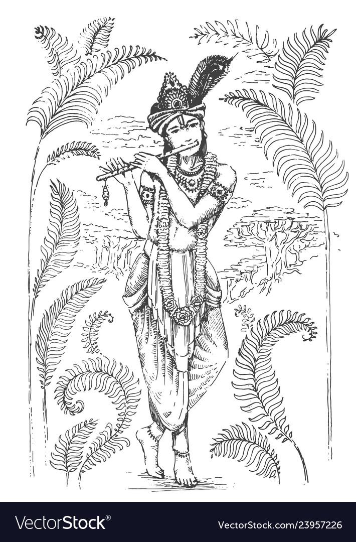 Krishna Flute - Free Icon Library