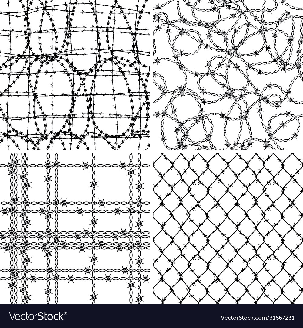 Barbed wire wallpaper collection