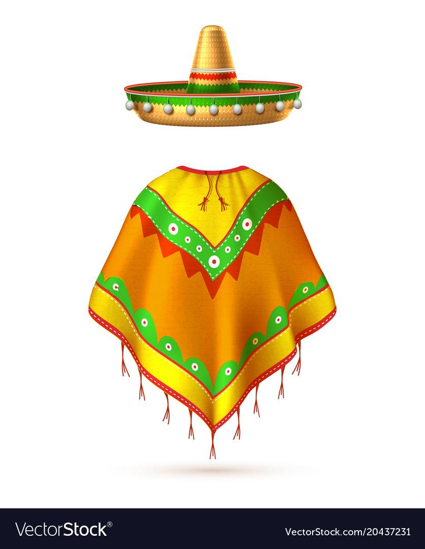 Sombrero mexican hat mustache cinco de mayo