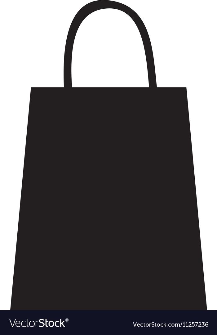 Shopping bag pictogram icon image vector image